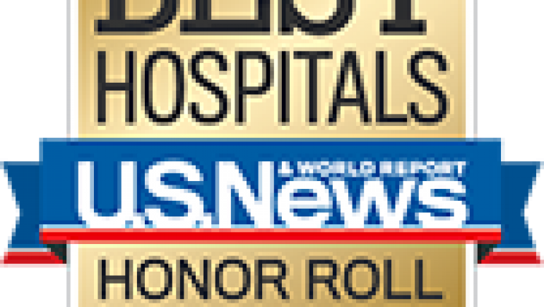 UCLA Health hospitals rank #1 in Los Angeles and California, #4 nationally