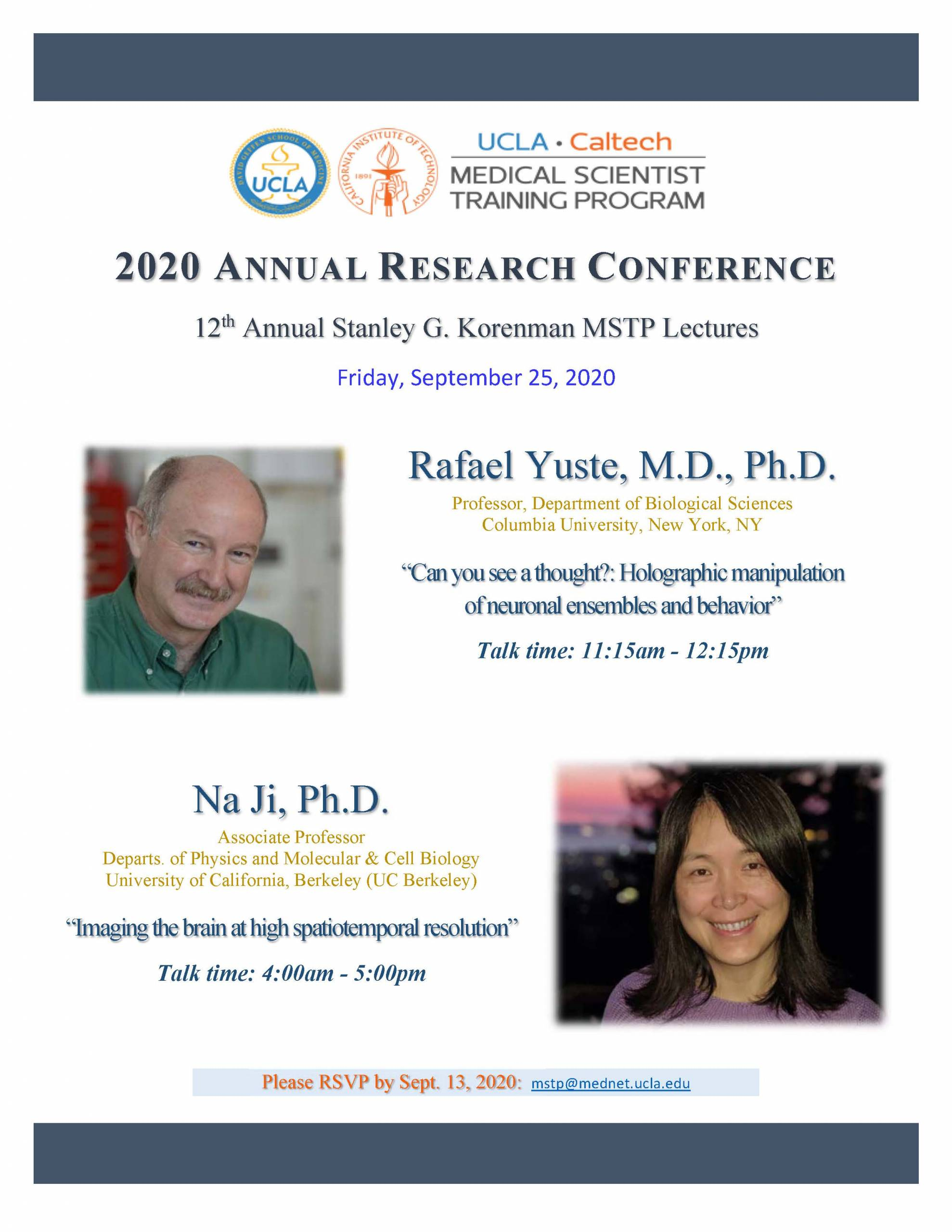 2020 Annual Research Conference Keynote Speakers
