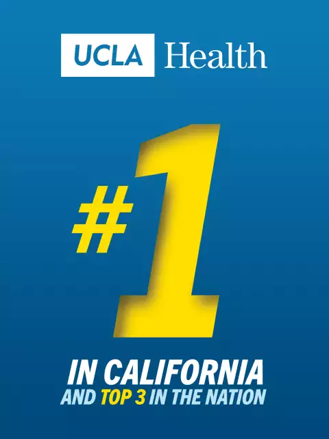 UCLA Health hospitals rank #1 in L.A. and state, #3 in nation